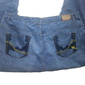Rocawear Mens Jeans Size 48 Straight Leg